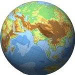 回転する地球儀をGIFアニメーションで作る