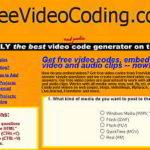 動画をブログに貼り付けるタグを生成するwebサービス